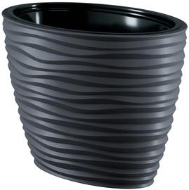Вазон Form Plastic 3115-014, антрацитовый