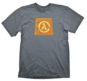 Gaya Entertainment T-Shirt Half Life Lambda Logo Dark Grey XL