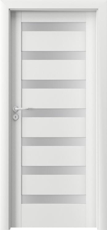 Porta Doors Porta Verte D7 Door Right 844x2030x40mm White