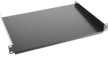 Riiul Lanberg Fixed Shelf 19'' 1U 483x315mm Black