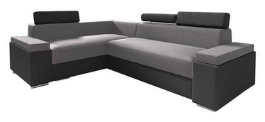Stūra dīvāns Idzczak Meble Chester Mini Grey/Dark Grey, 252 x 185 x 95 cm