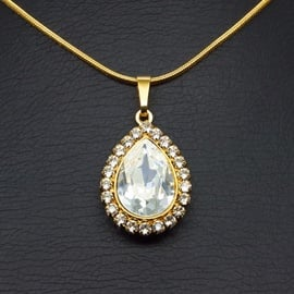Diamond Sky Pendant Crystal Celestial Drop With Swarovski Crystals