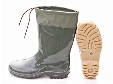 Guminiai batai, ilgi, sutraukiamu viršumi, 43 dydis