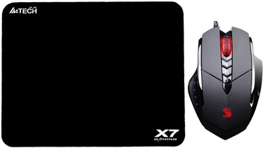 A4Tech Bloody V7M + Gaming Mouse Pad X7-200MP