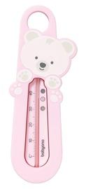 BabyOno Bear Bath Thermometer Pink
