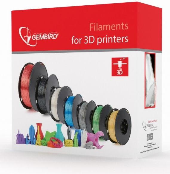 Расходные материалы для 3D принтера Gembird 3DP-PLA, 330 м, красный