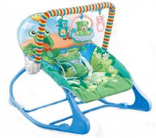 Детский лежак, синий, 58x8,5x39 см.