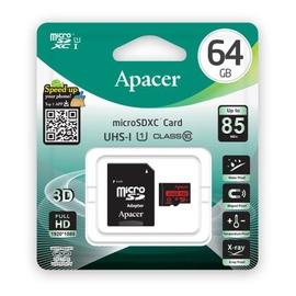 Карта памяти Apacer AP64GMCSX10U5-R, 64 GB
