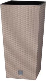 Prosperplast Pot Rato Square 50x26.5x26.5 Moka