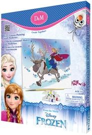 Revontuli Disney Frozen Easy Canvas Painting With Paillettes