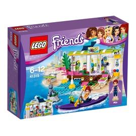 Konstruktorius LEGO Friends, Hartleiko banglenčių parduotuvė 41315