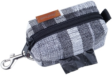 Пакет Amiplay London Waste Bags Dispenser 9x5x4cm Gray