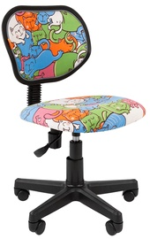 Детский стул Chairman 106 Cats Black, 560x440x835 мм