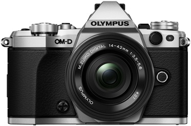 Olympus OM-D E-M5 Mark II Silver + M.Zuiko Digital ED 14-42mm f/3.5-5.6 EZ Black