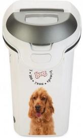 Söögikauss Curver Food Keeper Love Pets Dogs 6kg 15L