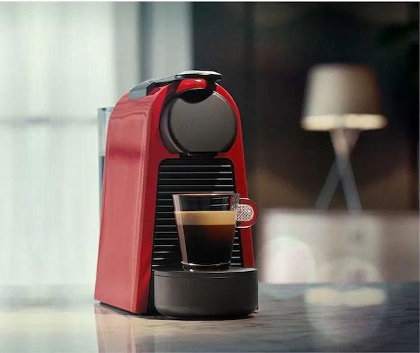 Nespresso Coffee Machine Essenza Mini D30 EN85.R Red