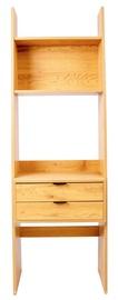 Home4you Berlin Shelf 60x185x35cm Oak