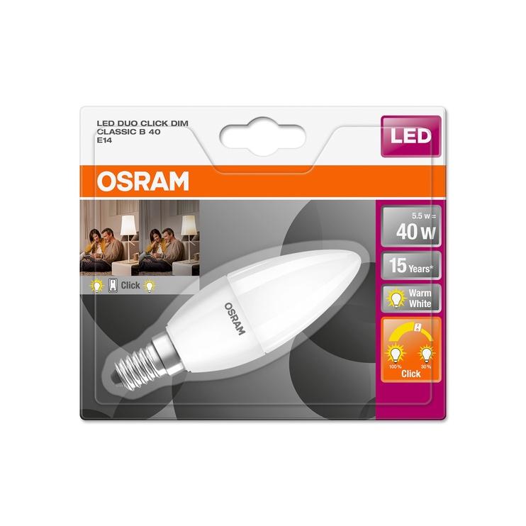 LED LAMP B35 5.5W E14 827 FR 470/140L DU
