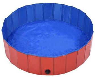 Аксессуары VLX Foldable Dog Swimming Pool, синий/красный