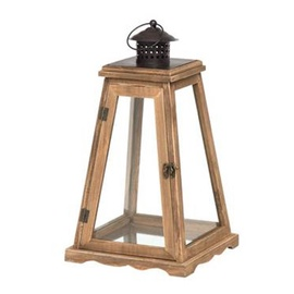 Polar Lanterns Pyramid Lantern 29.5cm Brown