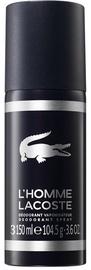 Vyriškas dezodorantas Lacoste L'Homme, 150 ml