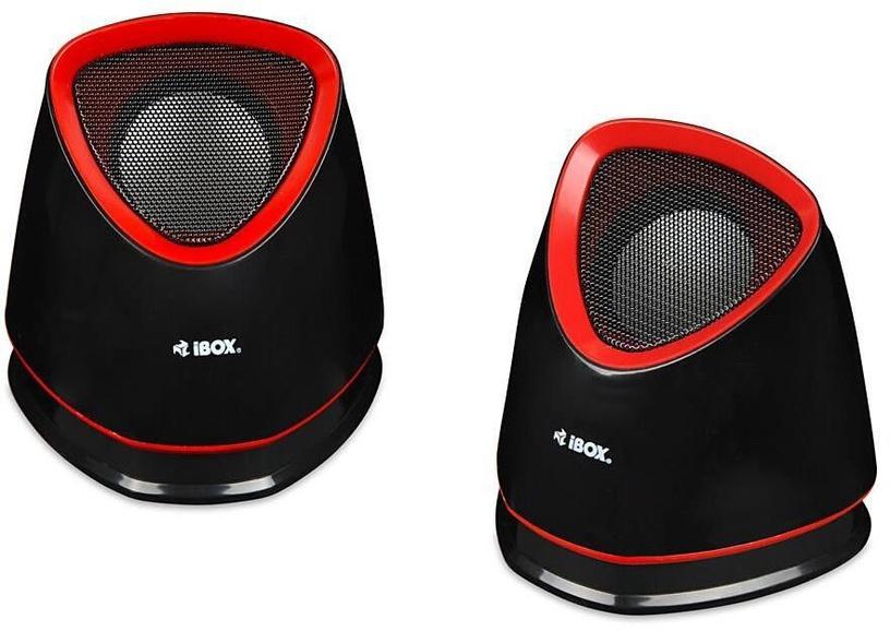 iBOX 2.0 Molde Speakers Red