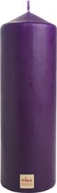 Eika Pillar Candle 21x7cm Dark Purple