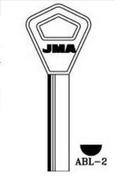 Raktų ruošinys Jma ABL-2, 1 vnt.