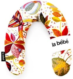 La Bebe Rich Cotton Nursing Maternity Pillow 30x104cm Red Leaf Fall 78636