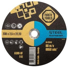 Lõikeketas Forte Tools 230x2.5x22.23mm, metallile