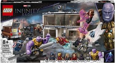 Конструктор LEGO Marvel «Мстители: Финал» — решающая битва 76192, 527 шт.