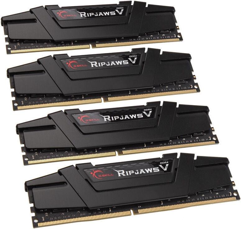 Operatīvā atmiņa (RAM) G.SKILL RipJawsV Series Black F4-3600C18Q-128GVK DDR4 32 GB