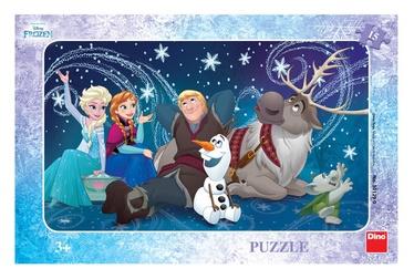 Puzle Dino Disney Frozen Frame Snow Queen, 15 gab.