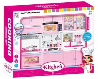 Askato Happy Little Cooking Kitchen Pink 106366