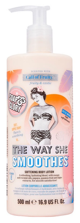 Ķermeņa losjons Soap & Glory The Way She Smoothes, 500 ml