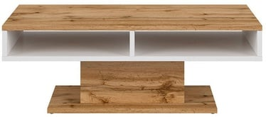 Kavos staliukas Black Red White Alamo Oak/White, 1200x700x430 mm