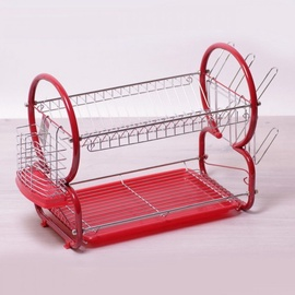 Kamille Dish Rack Red KM0765A