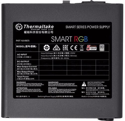 Thermaltake Smart RGB 700W PS-SPR-0700NHSAWE-1
