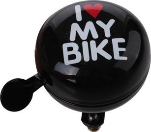 Cycletech I Love My Bike Bell Black