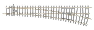 Piko Right Crossover WR With Concrete Sleepers 55171