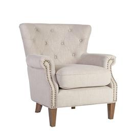 Кресло Home4you, 78 x 80 x 86 см, песочный