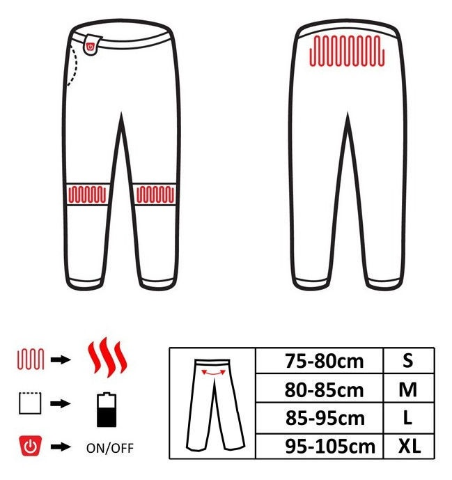 Glovii Heated Pants M