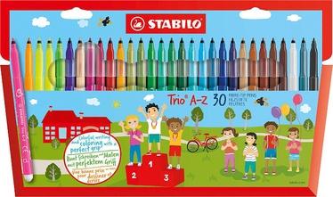 Stabilo Fibre-Tip Pens Trio A-Z 30pcs