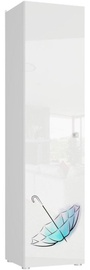 Skapītis Tuckano Bella 01 White, 500x2010x450 mm