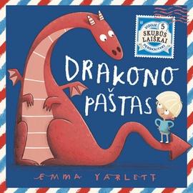 Knyga Drakono paštas