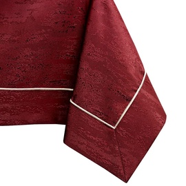 AmeliaHome Vesta Tablecloth PPG Claret 140x450cm