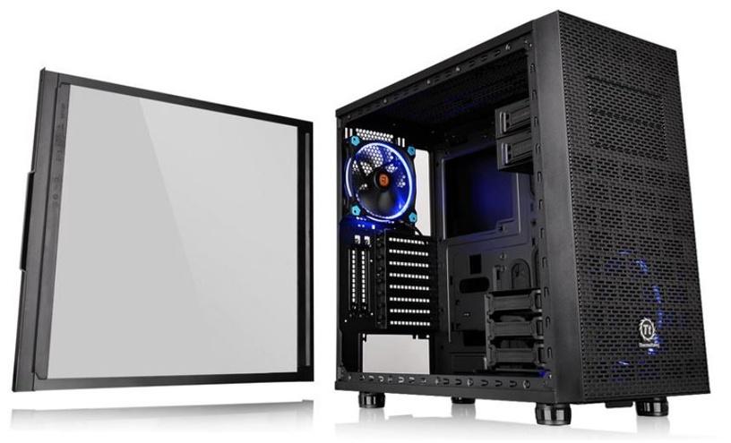 Thermaltake Core X31 TG Midi Tower Black