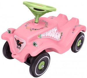 BIG Bobby Car Classic Flower Pink/Green