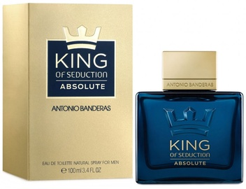 Kvepalai Antonio Banderas King of Seduction Absolute 100ml EDT