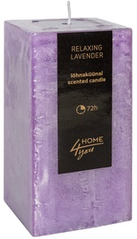 Home4you Candle Relaxing Lavender 7.5x7.5xH15cm